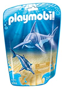 PLAYMOBIL Swordfish with Baby Building Set