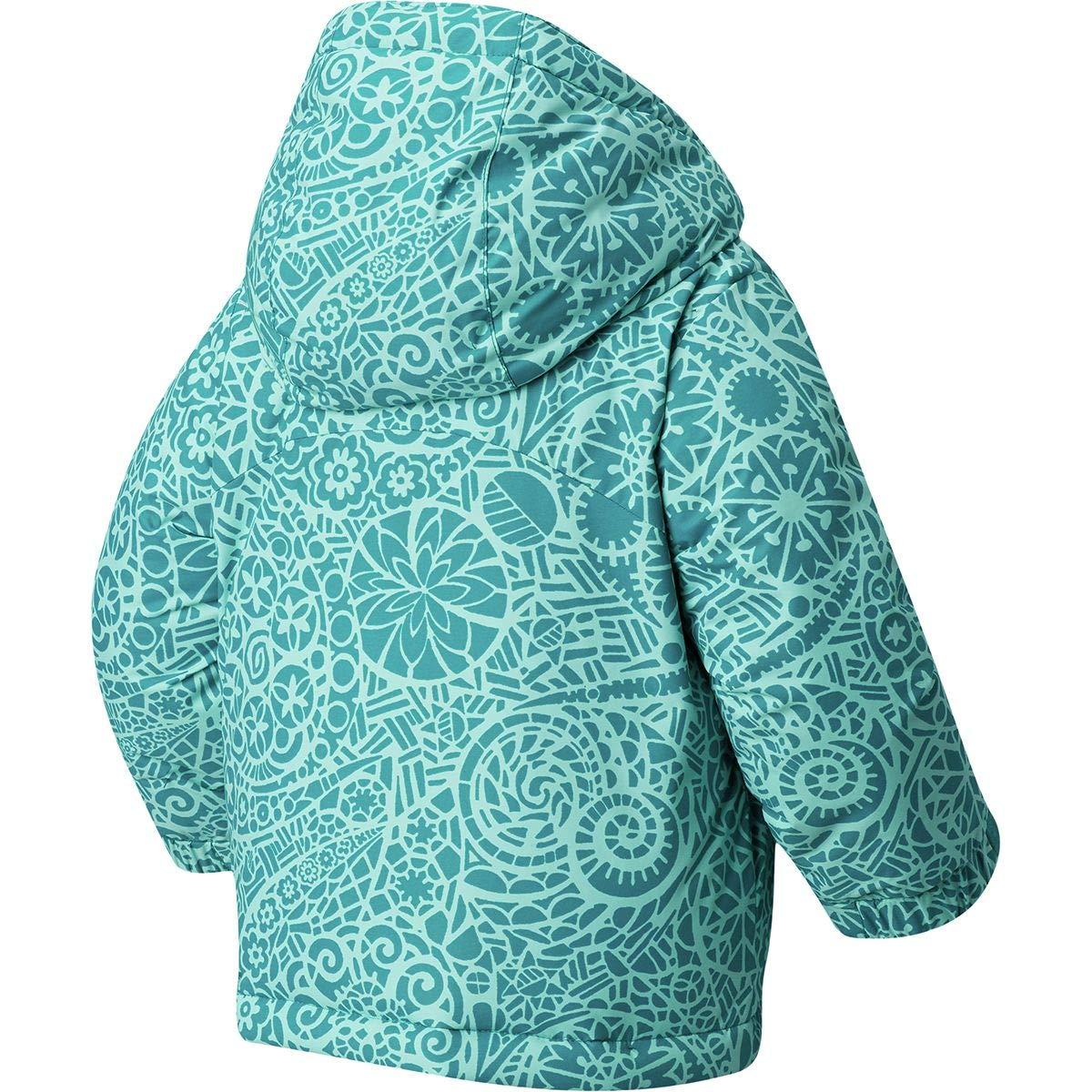 Emerald Mod Lace//Emerald Large Columbia Kids Girls Horizon Ride/¿ Jacket Little Kids//Big Kids