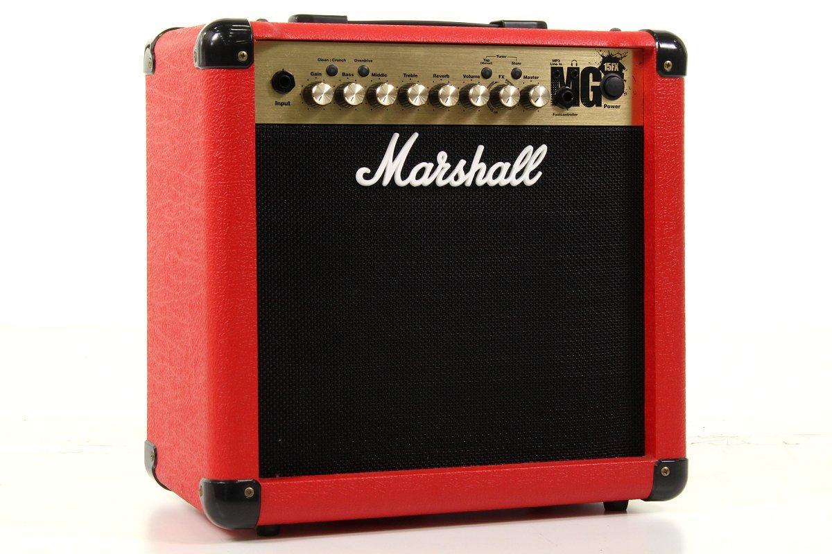 Marshall/MG15FX RED マーシャル エフェクト搭載ギターアンプ B07F37PDBF