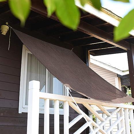 WSN Toldo de Sombra Sombra del toldo toldo fácil instalación de Agua Repelente de balcón terraza jardín jardín toldo de Sombra: Amazon.es: Deportes y aire libre