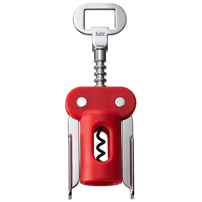 Flügelkorkenzieher 20cm Vacu-Vin Korkenzieher 68415606 J-Hook Metallguss