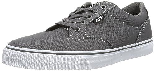 132739cfd7 Vans Men s WINSTON Low-Top Sneakers  Amazon.co.uk  Shoes   Bags