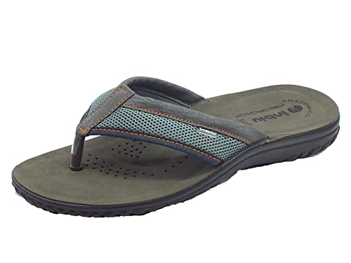 3143436dc11e INBLU Men s Thong Sandals Grey Size  5  Amazon.co.uk  Shoes   Bags