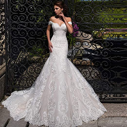 Vestido de novia Encaje vestido de novia vestido de novia vestido ...