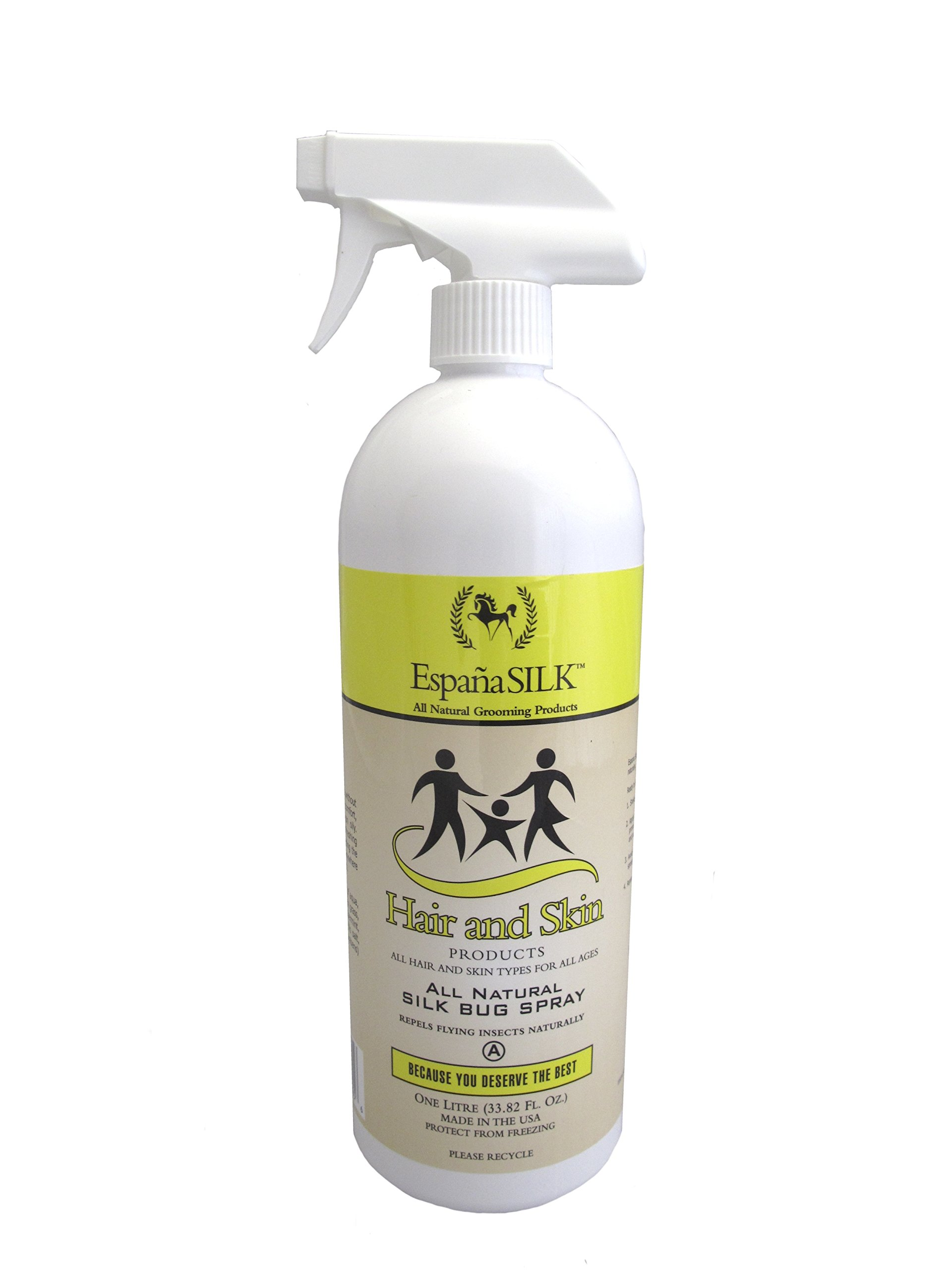 Espana Silk ESP2220P 33.82 oz Protein Natural Bug Spray, 1 L