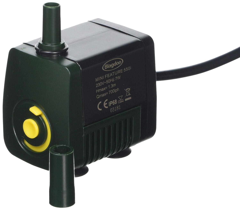 Blagdon Indoor Water Feature Pump, 550 Litre of Water Per Hour Interpet Ltd 1054010