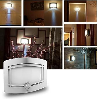 LED Wandleuchte, INCHANT Bewegungssensor Licht Innen Bewegungsmelder ...