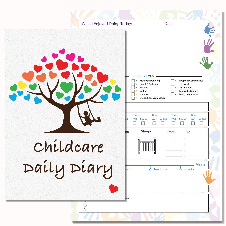 Agenda diaria para el cuidado de los niños, eslabones de ...