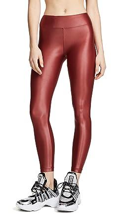 93ad0cbf Koral Activewear Women's Lustrous Infinity High-Rise Leggings, Vermelho,  Red, X-