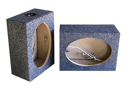 Pleasing Amazon Com Dnf 2 Pack 1 Pair Custom 6 X 9 Square Speaker Box Wiring 101 Cominwise Assnl