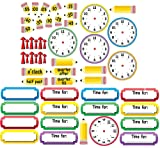 Eureka 'Telling Time' Bulletin Board Analog Clock