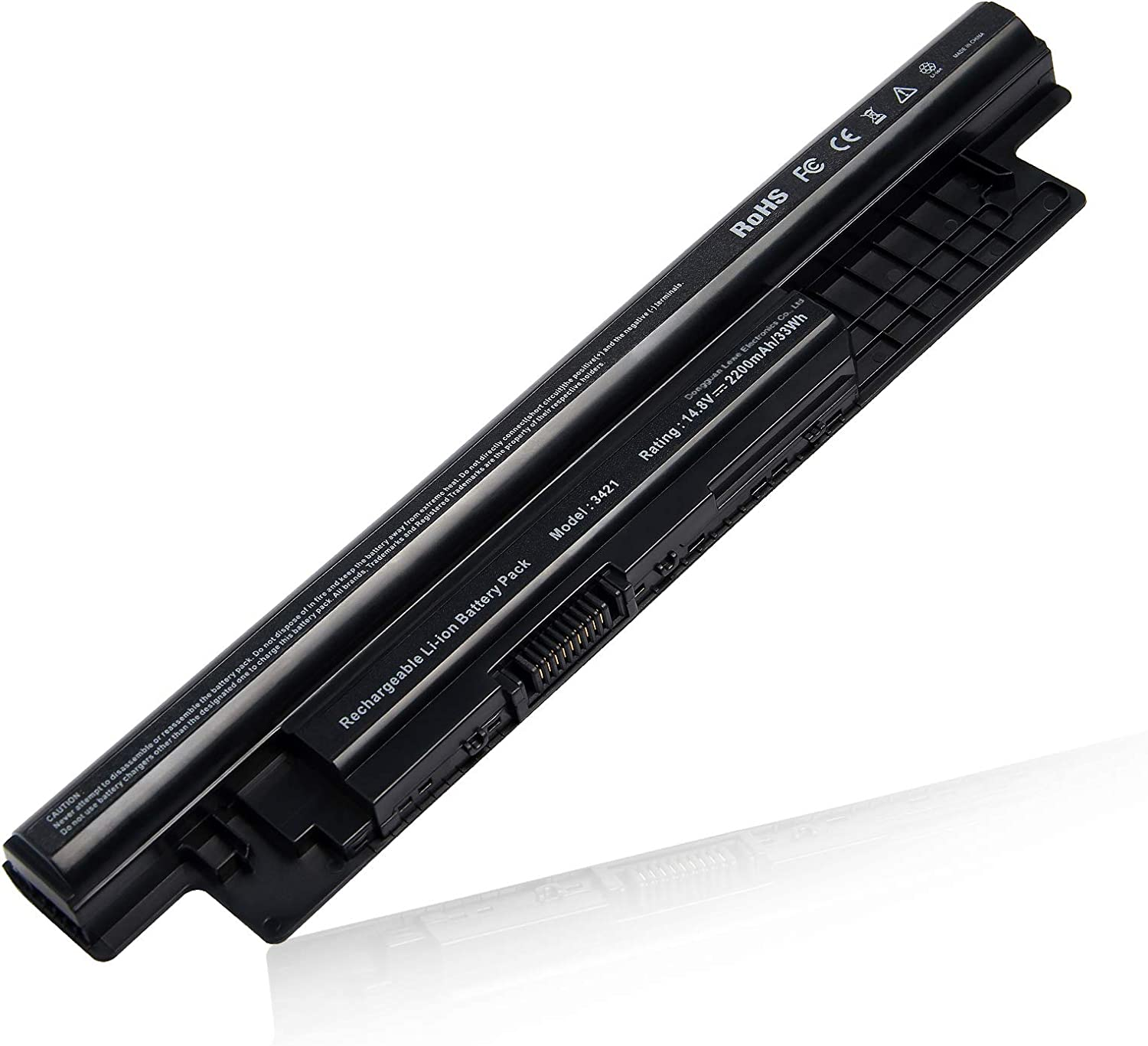 Laptop Battery for Dell Inspiron 14-3421, 14R-5421, 14R-5437, 15-3521, 15R-5521, 15R-5537, 17-3721, 17-3737, 17R-5721, 17R-5737, MR90Y 0MF69 N121Y G35K4 MK1R0 YGMTN