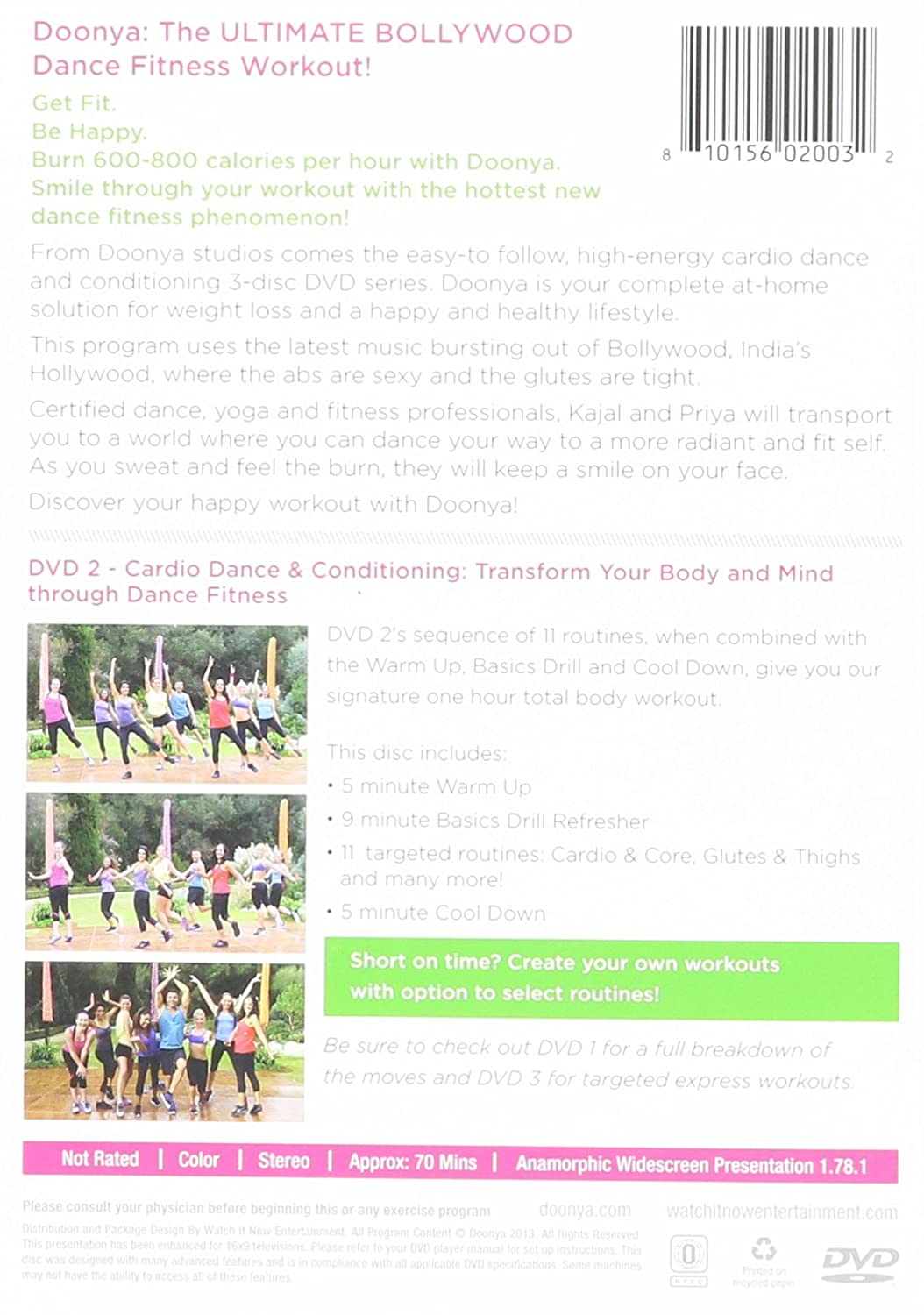 Amazon.com: Doonya: The Bollywood Dance Workout - Cardio Dance &  Conditioning: Kajal Desai, Priya Pandya, Darren Capik: Movies & TV