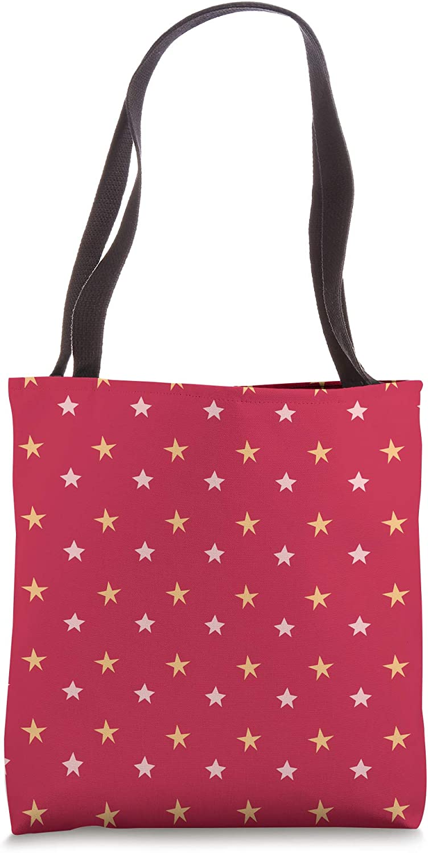 White Polka Dot Pattern Pink Background Beach Bag