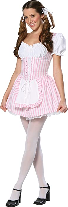 Candy Striper Girl Pink Teen Costume Size 3 5