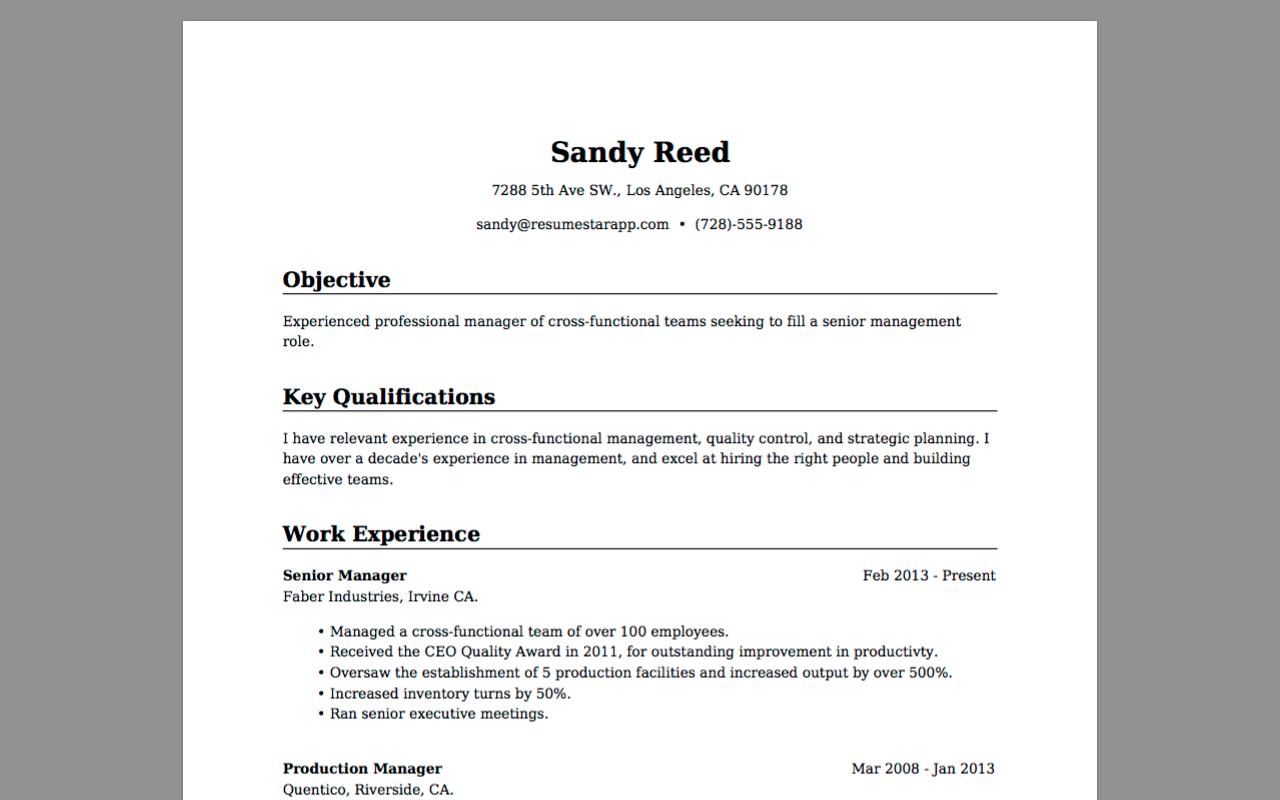 amazon com  resume star  pro cv maker and resume designer