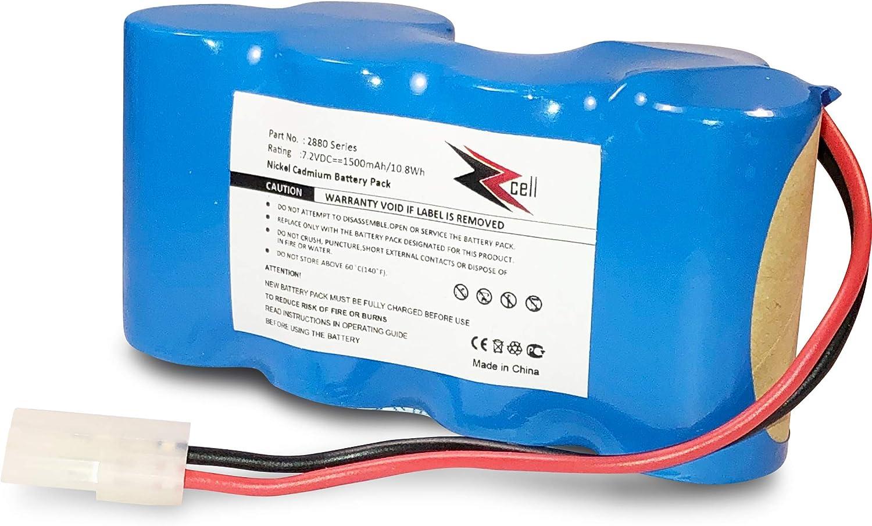 7.2V Battery for Shark V2945 V2950 Series Floor Carpet Sweeper XB2950 1500mah