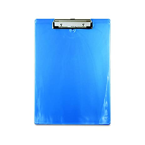 Saunders Recycled Plastic Clipboard, 0.5 Inch Capacity, Holds 8.5 X 12  Inches,