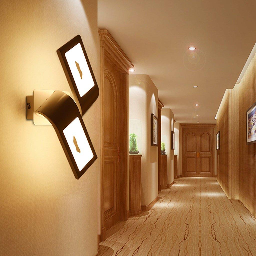 JIE KE Moderne minimalistische kreative wandleuchte led schlafzimmer nachtdekoration nordic designer wohnzimmer korridor gang lampen Kreative Wandleuchte (Größe   32  20  13 cm)