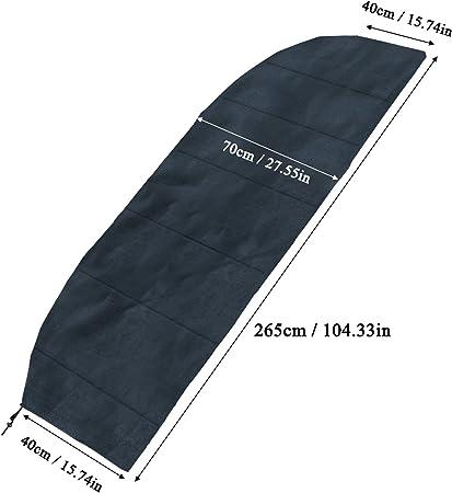 Coperchio di protezione per ombrellone giardino parasole esterno 265 cm lavabile
