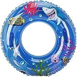 Schwimmringe Aufblasbarer Schwimmring mit Flamingo-Aufdruck f/ür Kinder und Erwachsene