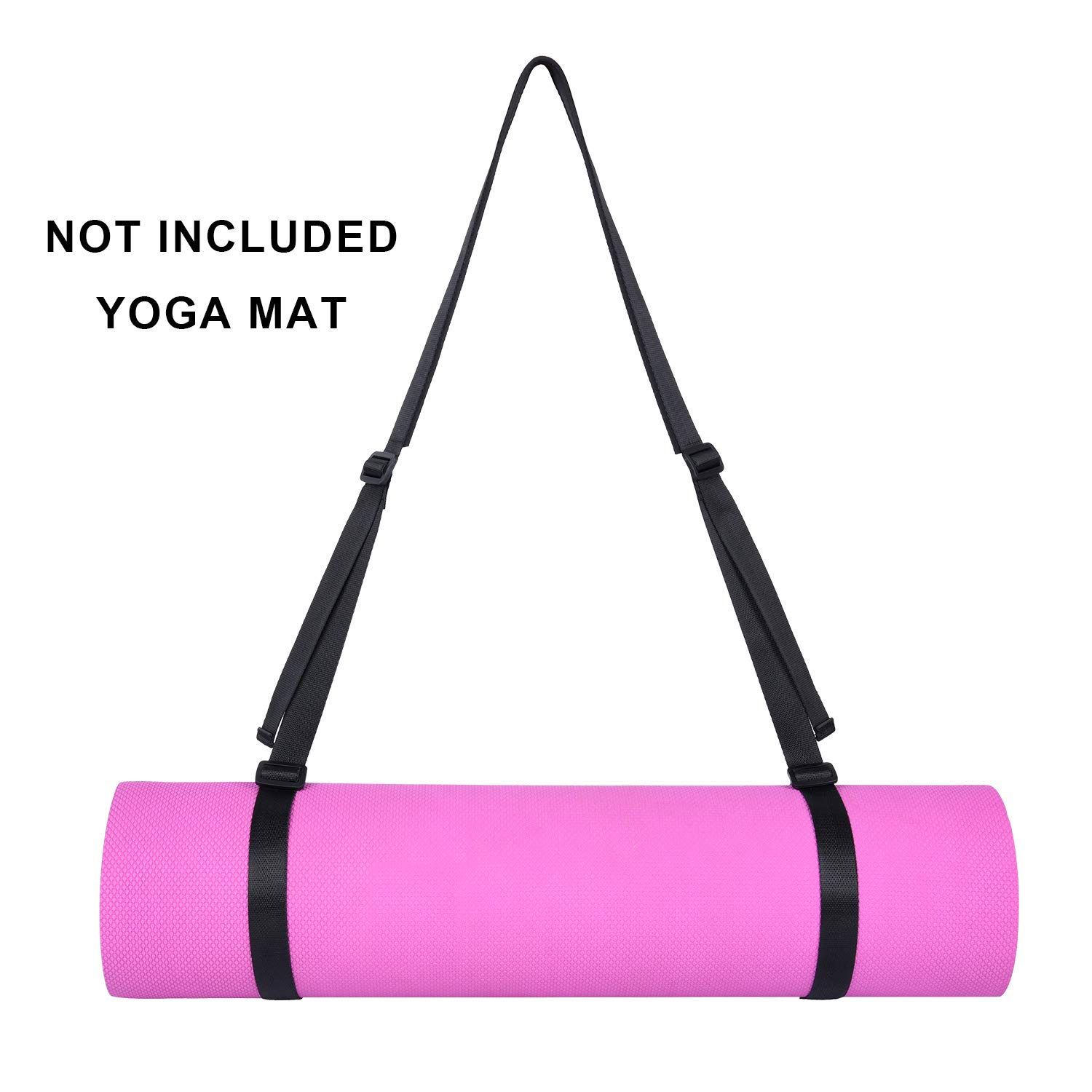 Adjustable Yoga Mat Carrying Strap Sling for all Mats 98 inches
