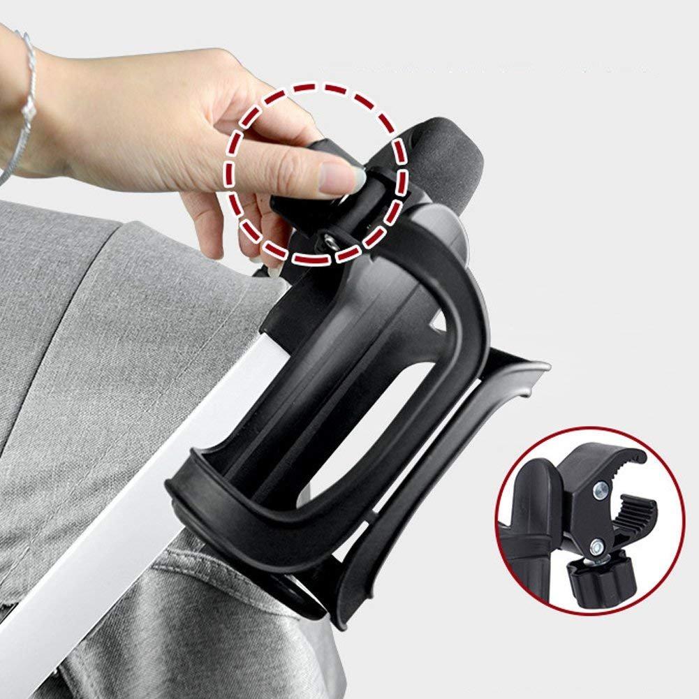 Cup Holder–Confezione da 2bici bottiglia portabicchieri rotazione di 360gradi drink Bottle Cup Holder per bicicletta rotelle bici passeggino portabicchieri TOVTO