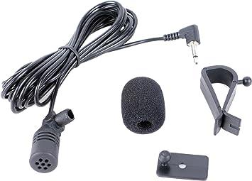 Externes Mikrofon Mikro Microphone Mic 3 5mm Plug Für Elektronik