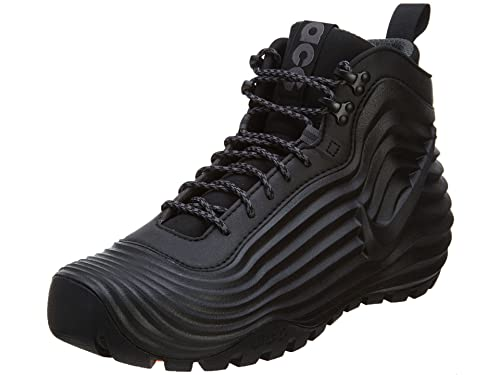 hot sale online e9344 f1ddb Nike Lunardome 1 Men s Sneakerboot Black-Dark Grey 654867-090 (9 D(