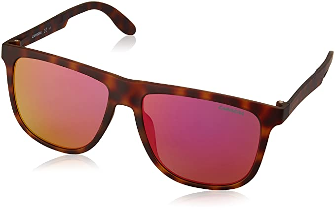fefc6b43f36641 Carrera Unisex-Adult s 5003 ST VQ Sunglasses, Havana, 57  Amazon.co ...