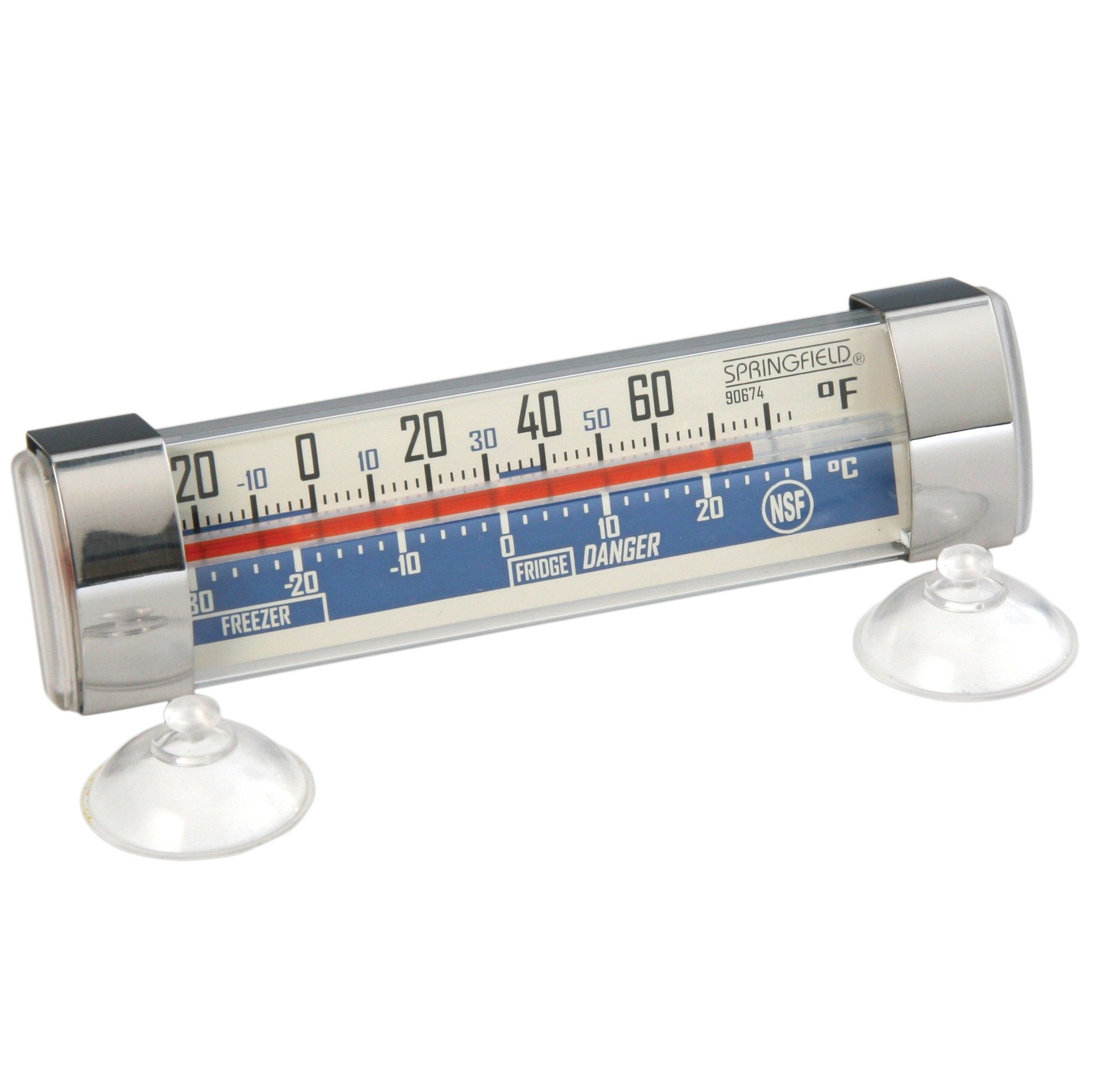 Taylor Springfield Freezer and Refrigerator Thermometer