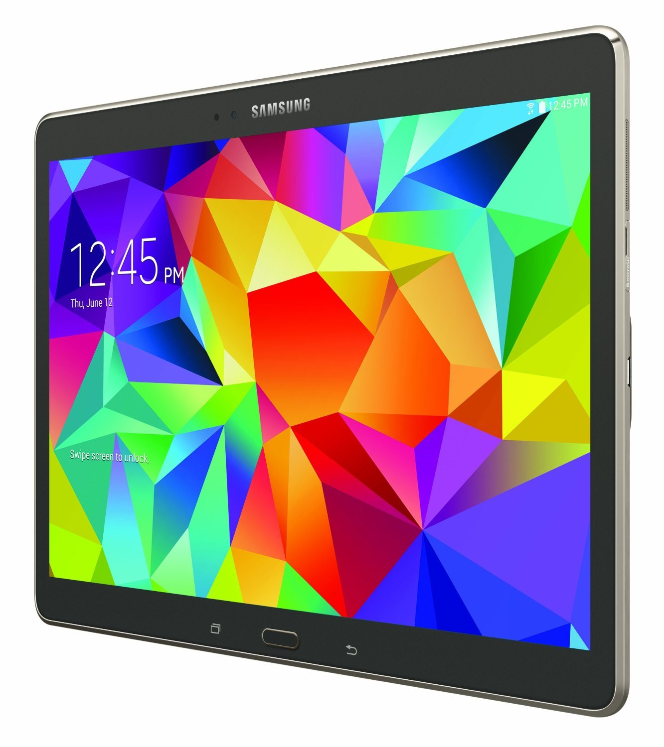 Samsung Galaxy Tab S SM T805 Tablet 10 5 inches 16GB WiFi 3G 4G LTE Voice Calling Titanium Bronze Amazon Electronics