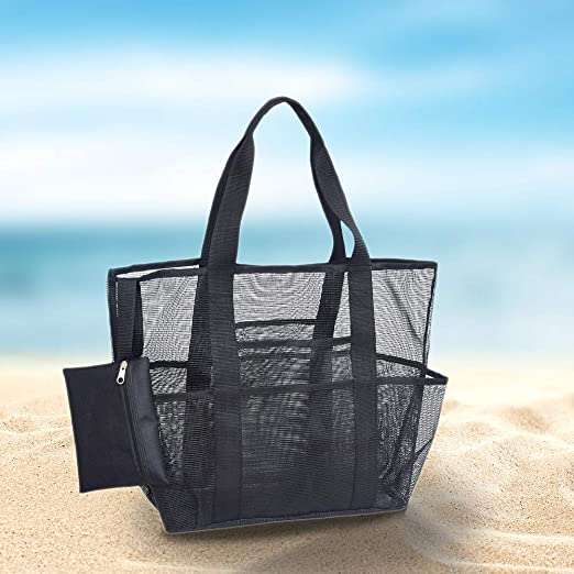 LYXMY Bolsa de Playa Transparente Picnic de Viaje Equipo ...