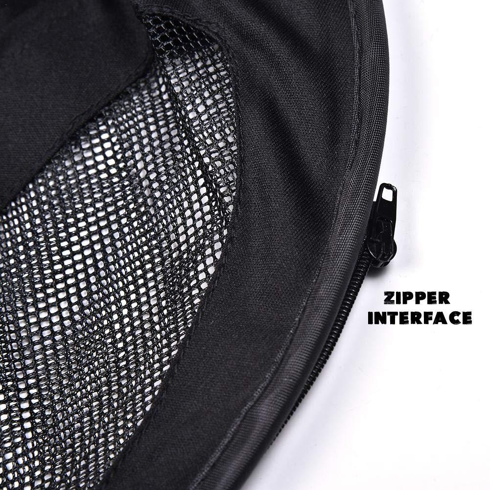 Bitcircuit Couverture de Poussette Soleil et Sommeil Poussette b/éb/é Protection Solaire Moustiquaire Universelle Moustiquaire Pliable Anti-UV