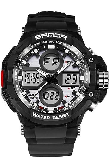 Reloj deportivo militar táctico para hombre con cronómetro ...