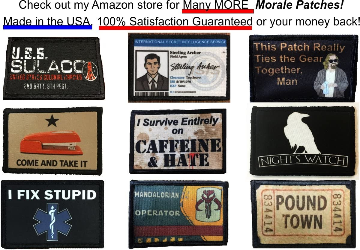 Duck Hunt Morale Patch Made in the USA Backpack Operator Baseball Cap Plate Carrier or Vest Perfect for your Tactical Military Army Gear 2x3 Patch