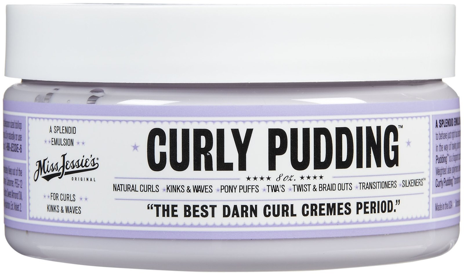 Miss Jessie's Curly Pudding -8Oz