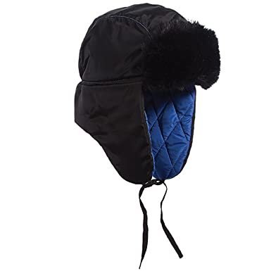 c278f5a3 SCALA Womens Puff Trooper Hat (Cobalt) at Amazon Women's Clothing store: