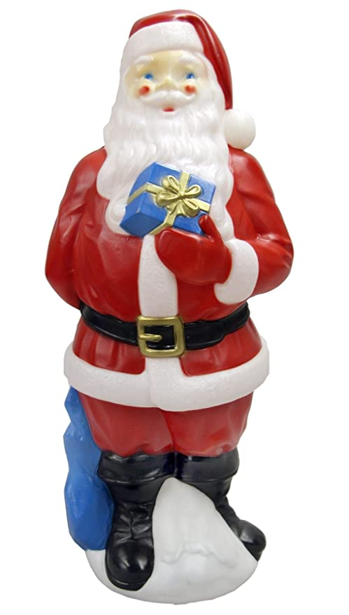 "Lighted, Light Up, Christmas Indoor/Outdoor Yard or Lawn Decorations (34"" Santa Claus)"