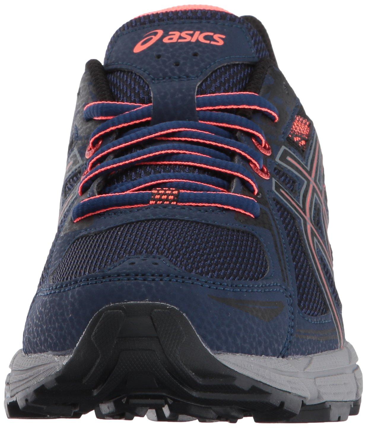 ASICS Women's Gel-Venture 6 Running-Shoes,Indigo Blue/Black/Coral,5 Medium US by ASICS (Image #4)