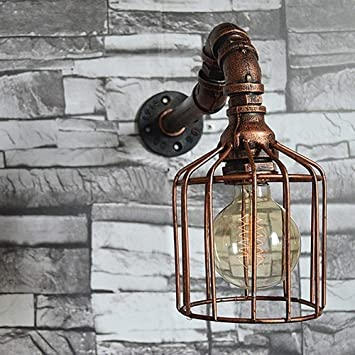 Oferta Linterna de Pared Lámpara de Pared de Cristal Espejo Luz ...