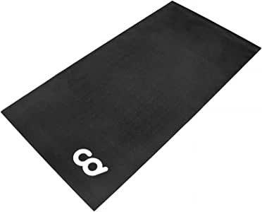 CyclingDeal Bike Bicycle Trainer Floor Mat Suits Ergo Mag Fluid Anti-Vibration Indoor Cycles Exercise.Stepper.Spin Bikes