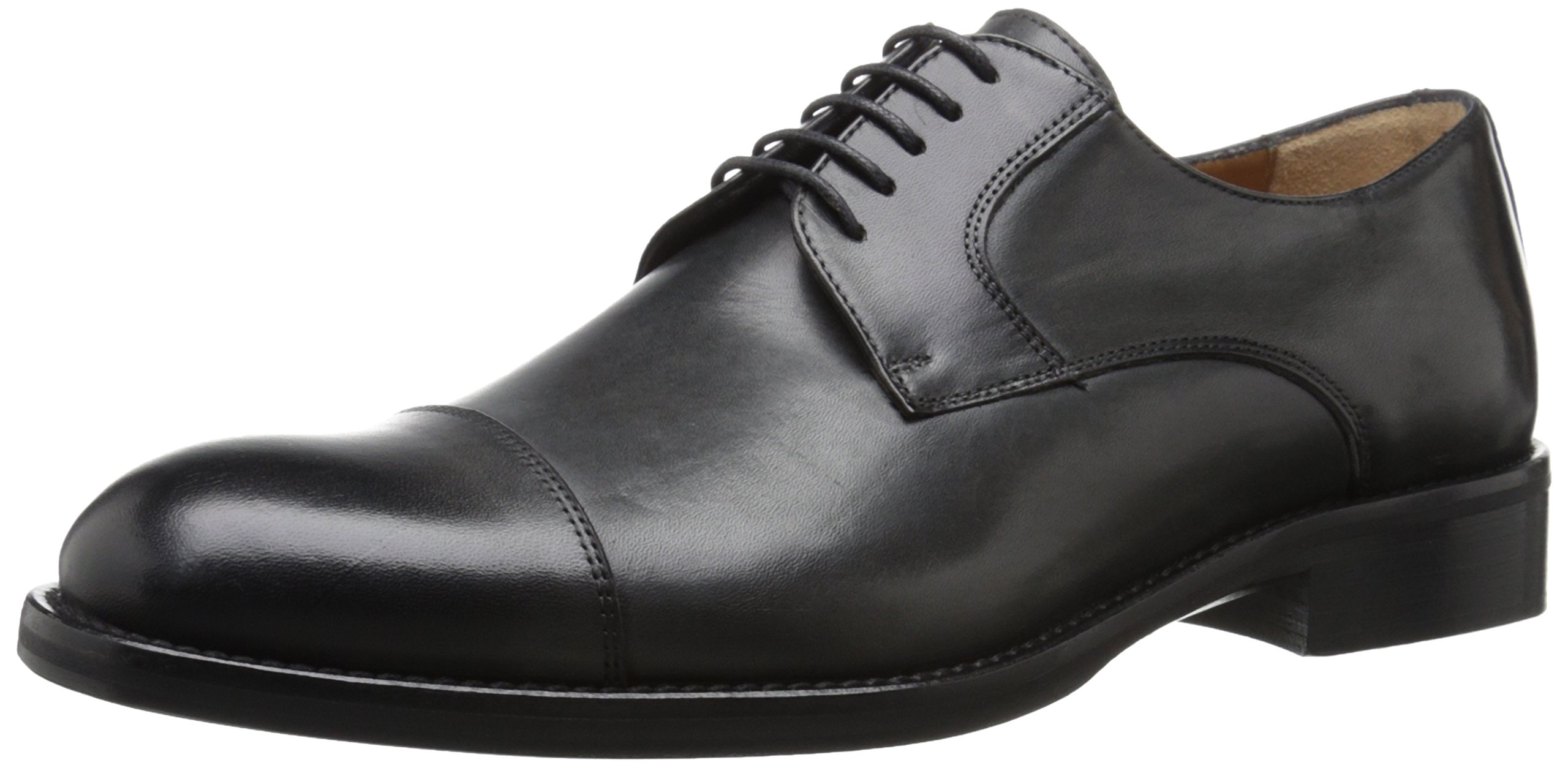 Kenneth Cole New York Men's Travel Guide Oxford, Dark Grey, 13 M US