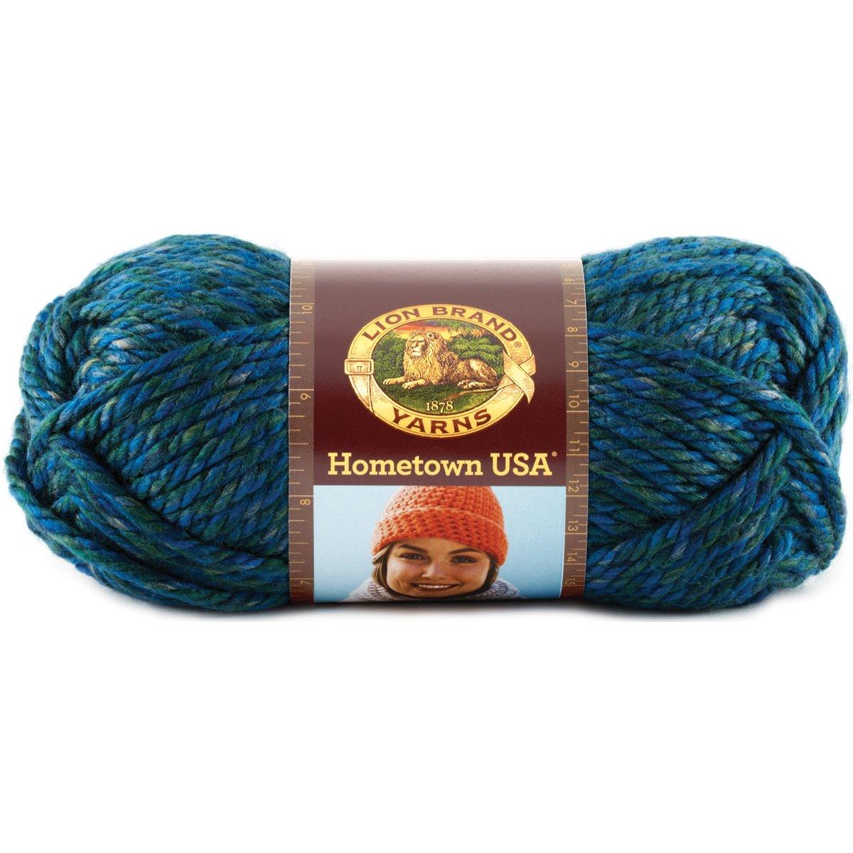 149 Dallas Grey Lion Brand Yarn Lion Brand Hometown USA Yarn