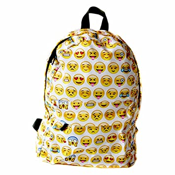 School Bag, CAMTOA Mochila Escuela/Cool Backpack/Mochila Linda/Emoji Backpack -