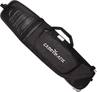 Caddymatic Hard Top Shell Padded Travel Cover with Wheels