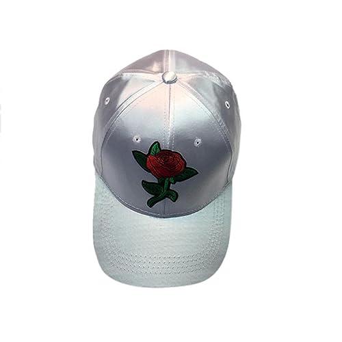 INTERNET Sombrero plano de la gorra de béisbol floral de los hombres de las mujeres