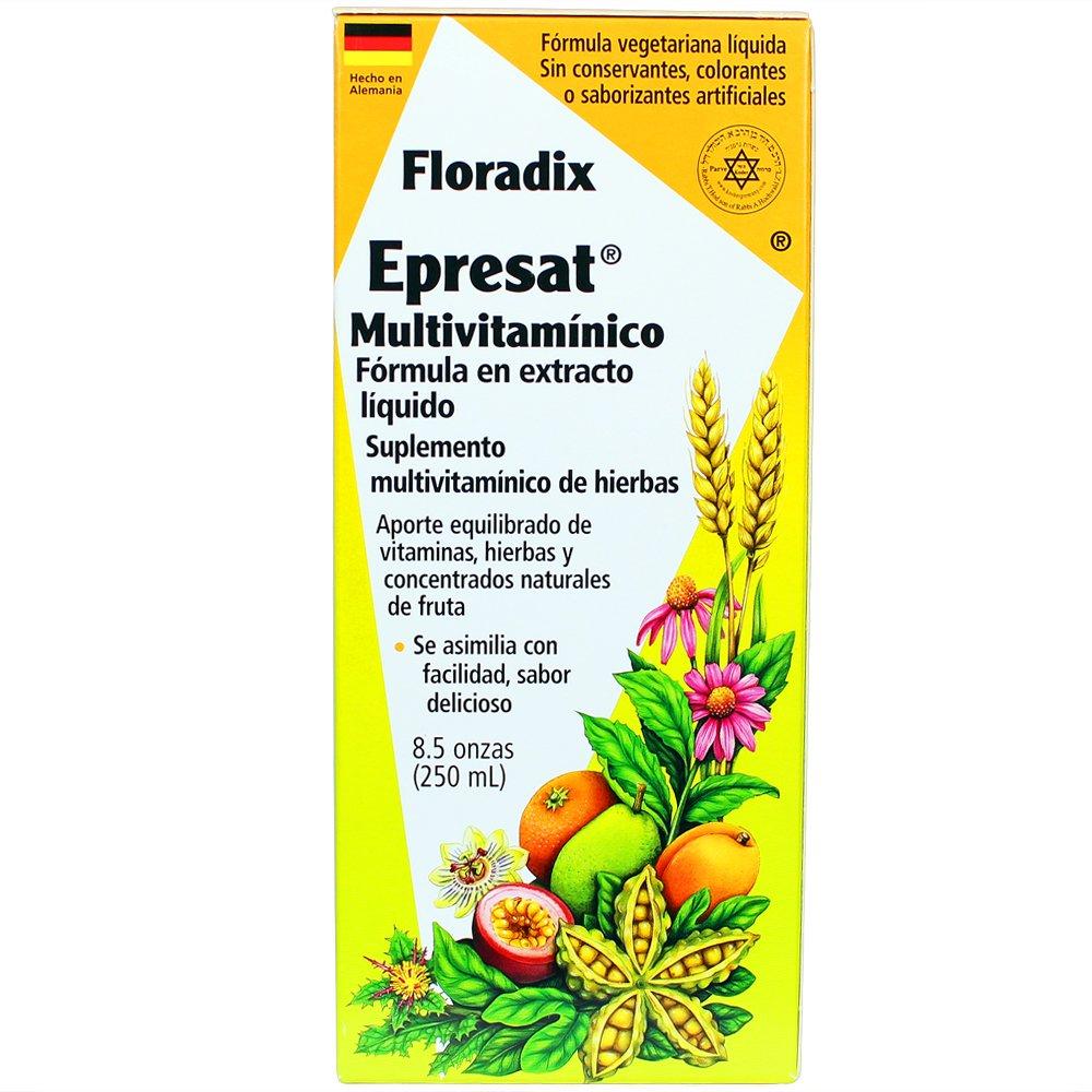 Floradix Epresat Multivitamin Energeticum, 250ml: Amazon.es: Salud y cuidado personal