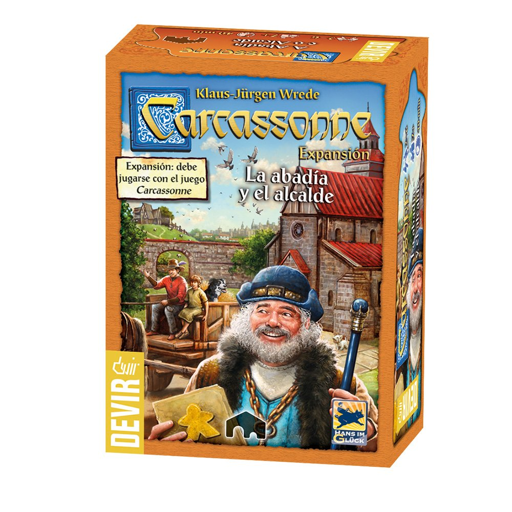 Carcassonne-Abadia y el Alcaldehttps://amzn.to/2BS9DuV