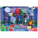 JP PJ Masks PJ máscaras Deluxe 16 pc figura Set